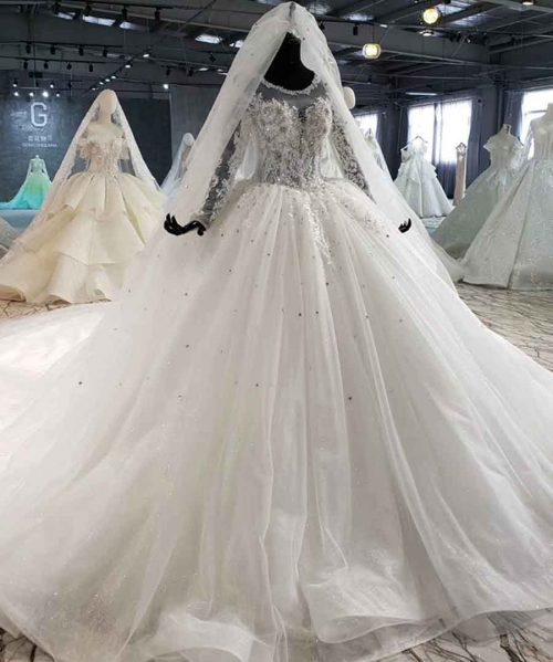 like white luxury wedding gowns in women 's dresses