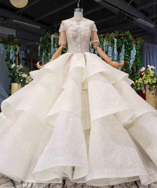 ball gown wedding dress plus size