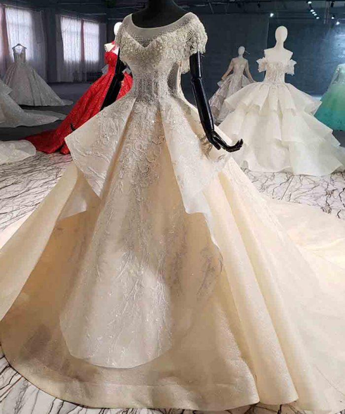 princess wedding dress in dubai