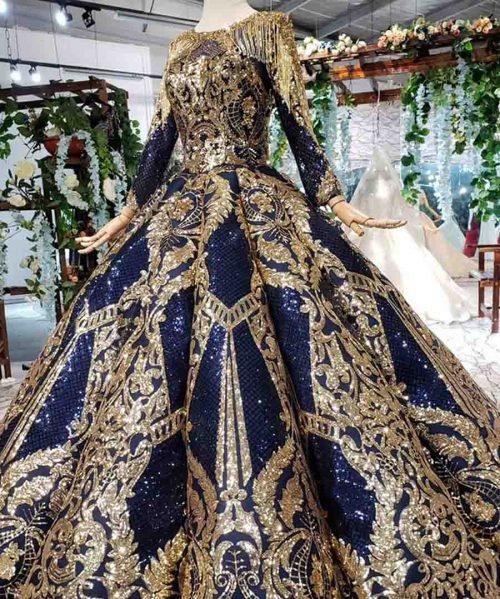 navy blue evening dress plus size