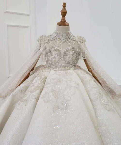 princess luxury girl flower dress