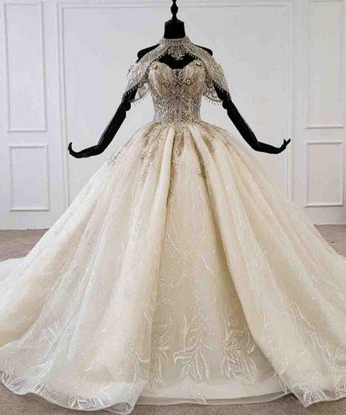 wedding dress plus size halter