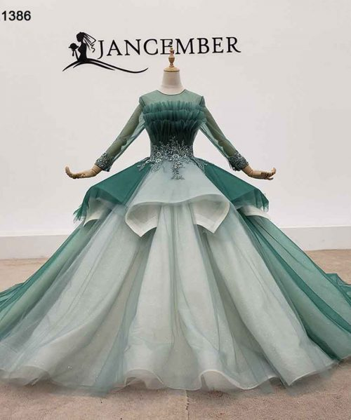 Peplum Evening Dresses Glitter Dresses