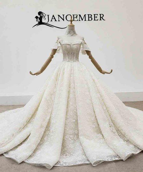 Wedding Dress Off Shoulder Women Wedding