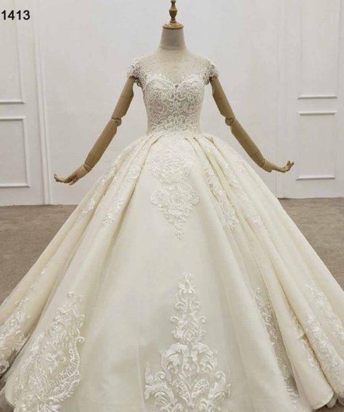 Elegant Wedding Dress Floor Length Summer