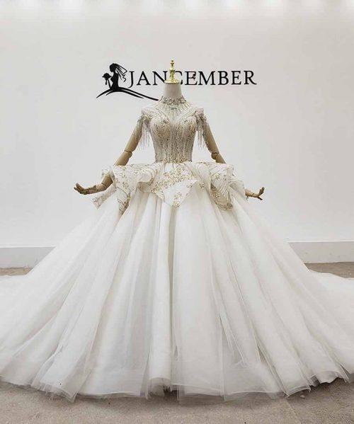 Wedding Dress Tassel Wedding Gown Pearl