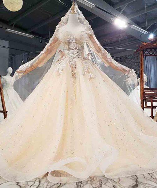 Tassel Beading Crystal Quinceanera Dresses 2020 HTL1757
